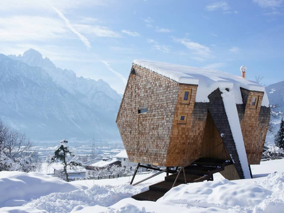 Tree house hotel in Austria: The Ufogel