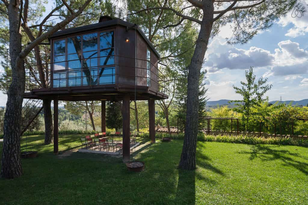 Treehouse in Italy: Casa Barthel