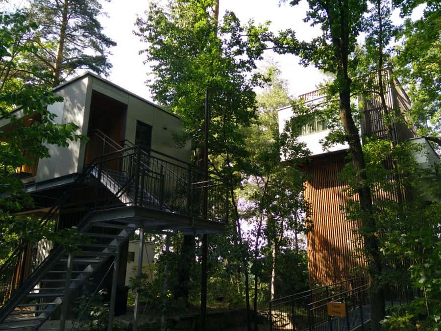 A week-end at the Baumhaus Lodge Schrems