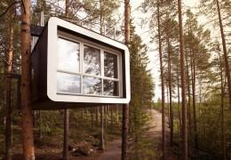 Treehotel in Sweden: The Cabin