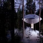 treehotel sweden UFO