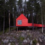 treehotel sweden Blue Cone