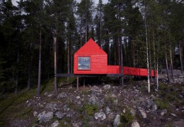 Treehotel in Sweden: The Blue Cone