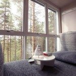 Interior Treehotel Sweden: The Cabin - Photo © Treehotels