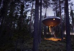 Treehotel in Sweden: The UFO
