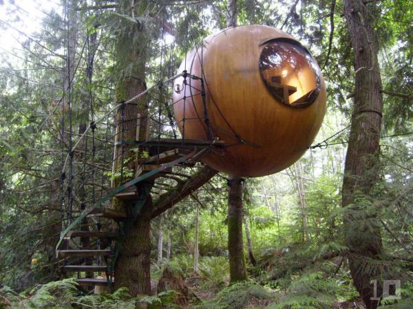 free spirit spheres isla de vancouver canada