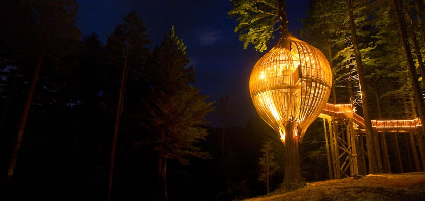 Treehouse in New Zealand: Yellow Treehouse Cafe ...