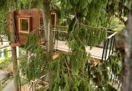 Treehouse in Switzerland: Bàlvedere Treehouse