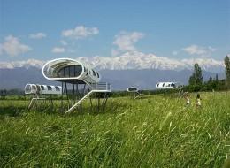 Tree house hotel in Argentina: Vineyard Loft