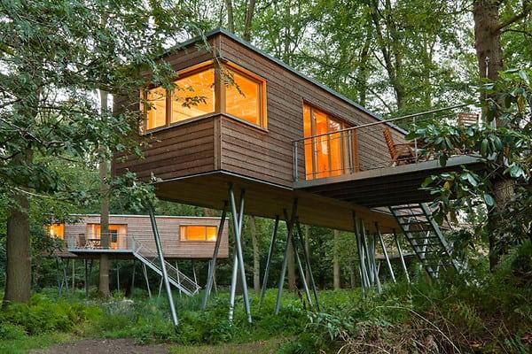 treehotel in germany baumgefl ster treehouse map. Black Bedroom Furniture Sets. Home Design Ideas
