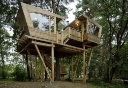 Treehouse in Germany: The Scout Treehouse