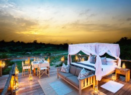 Tree house hotel in South Africa: Lion Sands Tinyeleti Treehouse