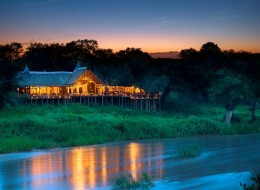 Treehouse hotel in South Africa: Lion Sands Game Reserve Treehouses