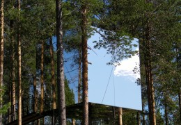 Treehotel in Sweden: The Mirrorcube