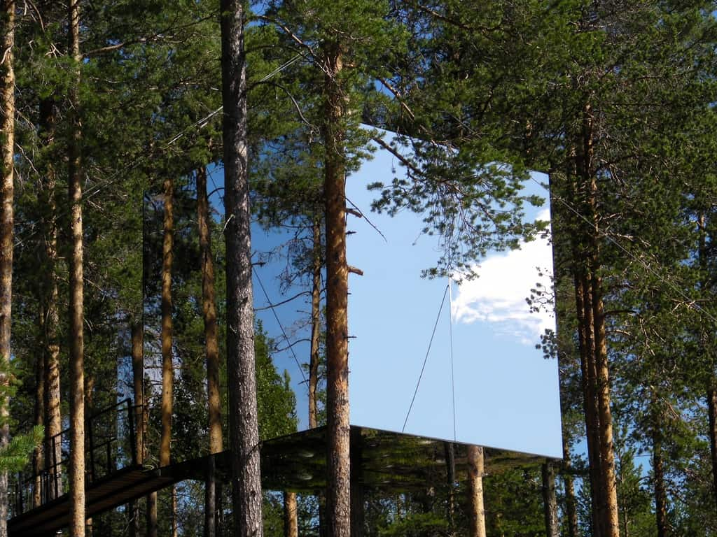 Tree House in Harads, Sweden - Treehotel by Arvid Rudling-002