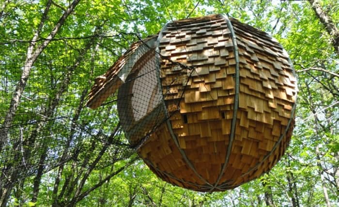 Treehotel in France - Lov'nid treehouse