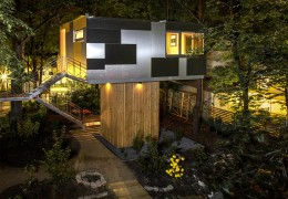 Treehouse in Germany: The Urban Treehouse
