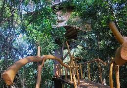 Tree house hotel in Sri Lanka: Traveller's Hideout in Miyanawatta
