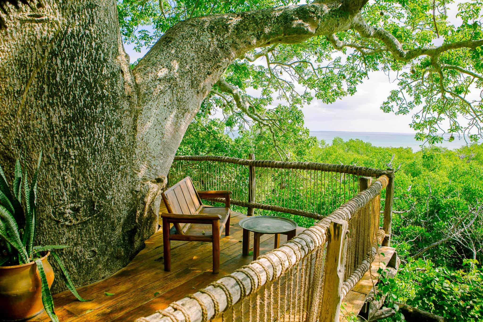 Tree house hotel in tanzania moja treehouse tree house for Treetop house