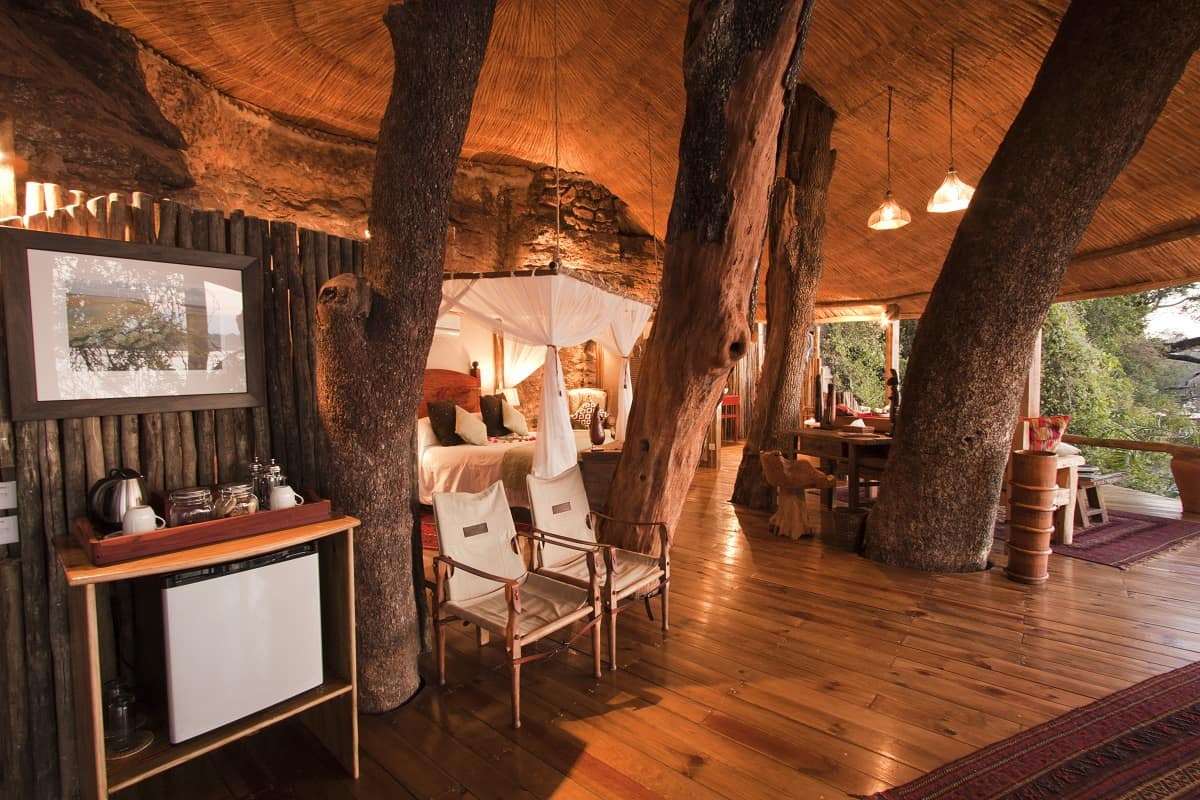 Treehotel In Zambia Tongabezi Tree House 005 Tree