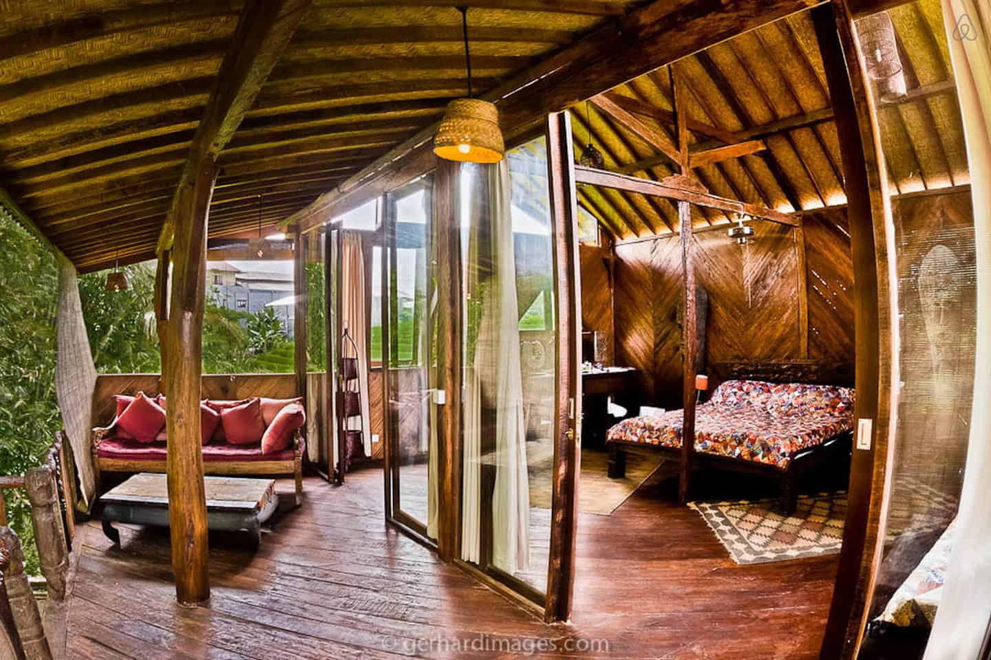 Tree House Hotel In Indonesia Charming Hideaway In Bali Treehouse Map
