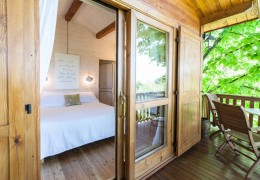 Tree house hotel in Italy: The Monferrato Aroma(n)rica Treehouse
