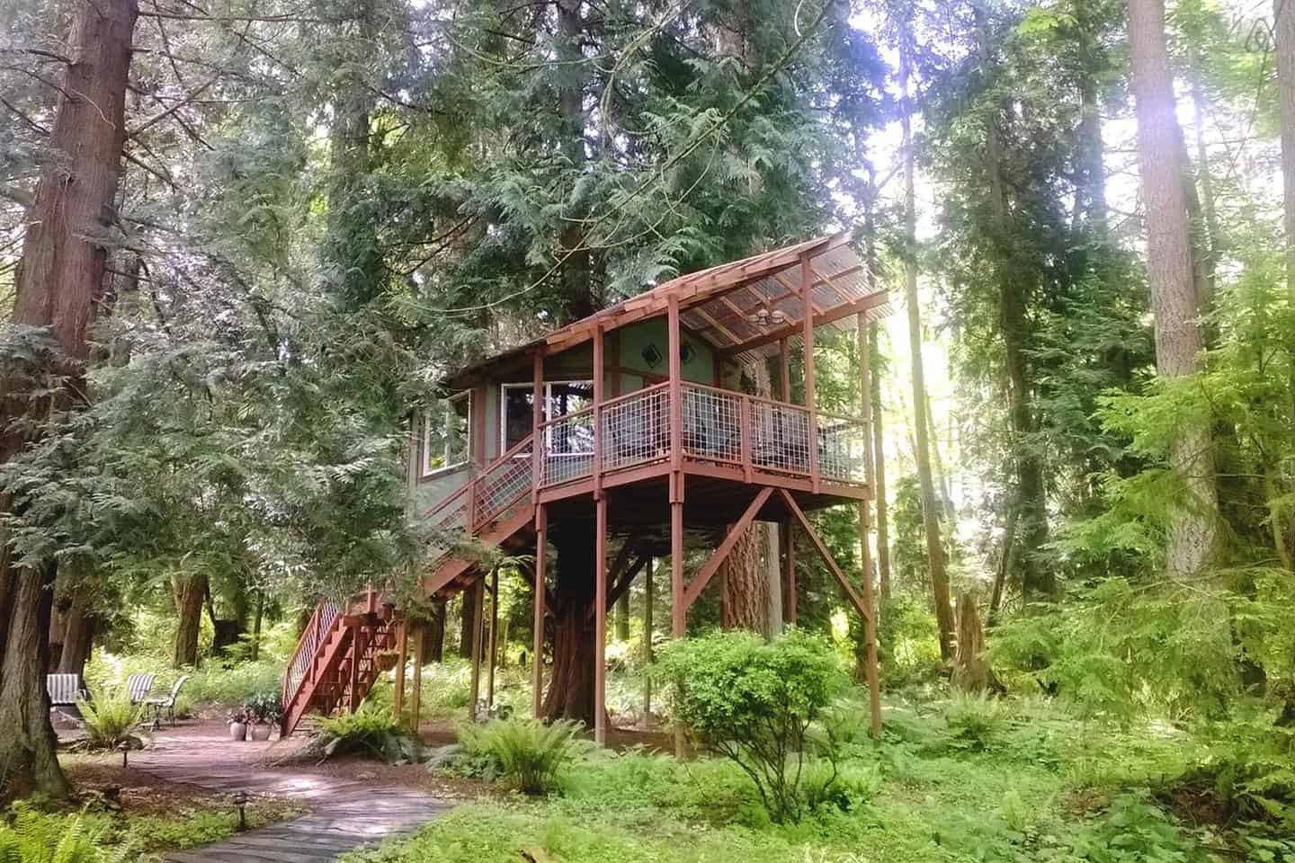 Tree House Hotel In The Us Whidbey Island Suite