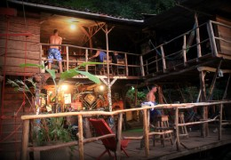 Treehouse in Nicaragua: The Poste Rojo Treehouse
