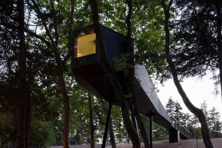 Treehouse Hotel in Portugal: Pedras Salgadas Spa & Nature Park
