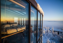 Treehouse Hotel in Finland: The Eagles View Suite
