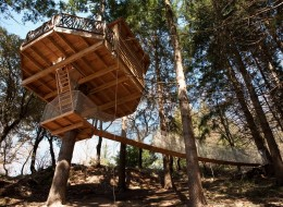 Treehouse Hotel in Spain: Cabanes als Arbres